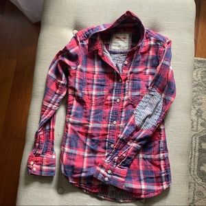 Mossimo. fitted flannel xs